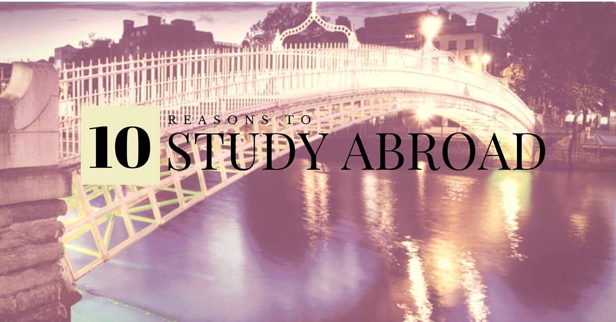 the reasons behind studying abroad Despite attempts to promote study abroad and concerns from industry, government, and academia about its decline, why are fewer japanese students choosing to head overseas  four reasons for the .