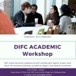 DIFC Academic Workshop – Cork