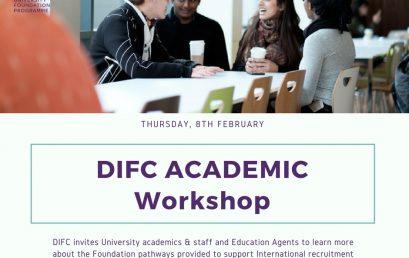DIFC Academic Workshop – Cork
