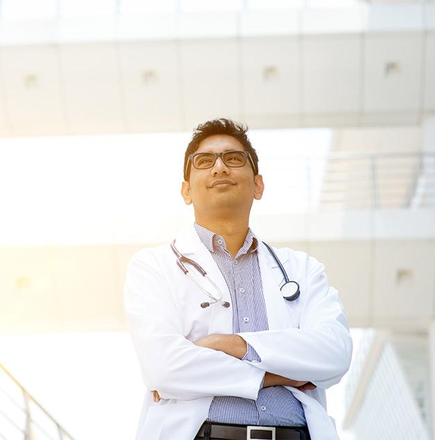 Malaysian male doctor