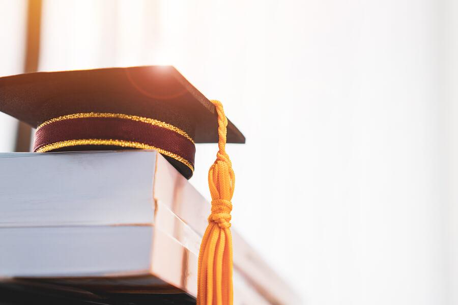 Student graduation cap